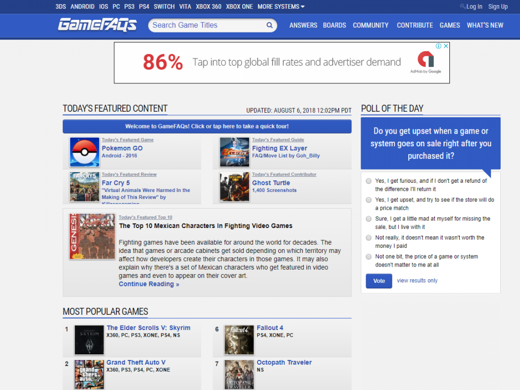 GameFAQs