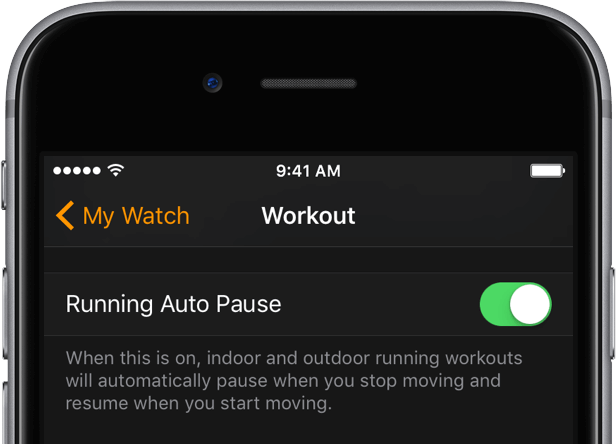Activate Auto Pause