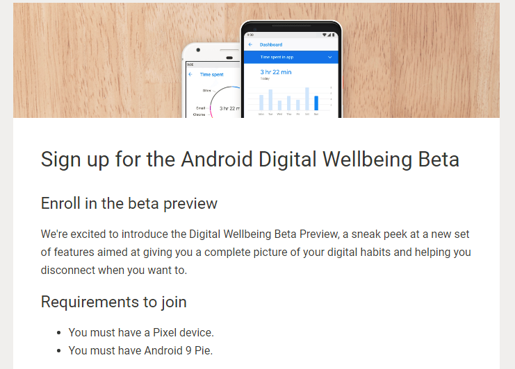 Android Digital Wellbeing Data