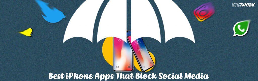 iphone apps that block social media