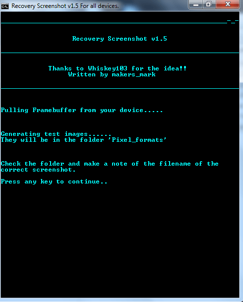 How to take screenshots of Android recovery mode-8