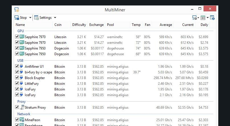 MultiMiner