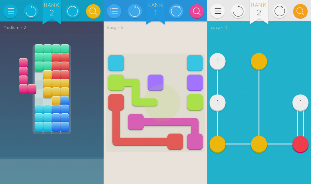 Puzzlerama - Lines, Dots, Blocks, Pipes & more