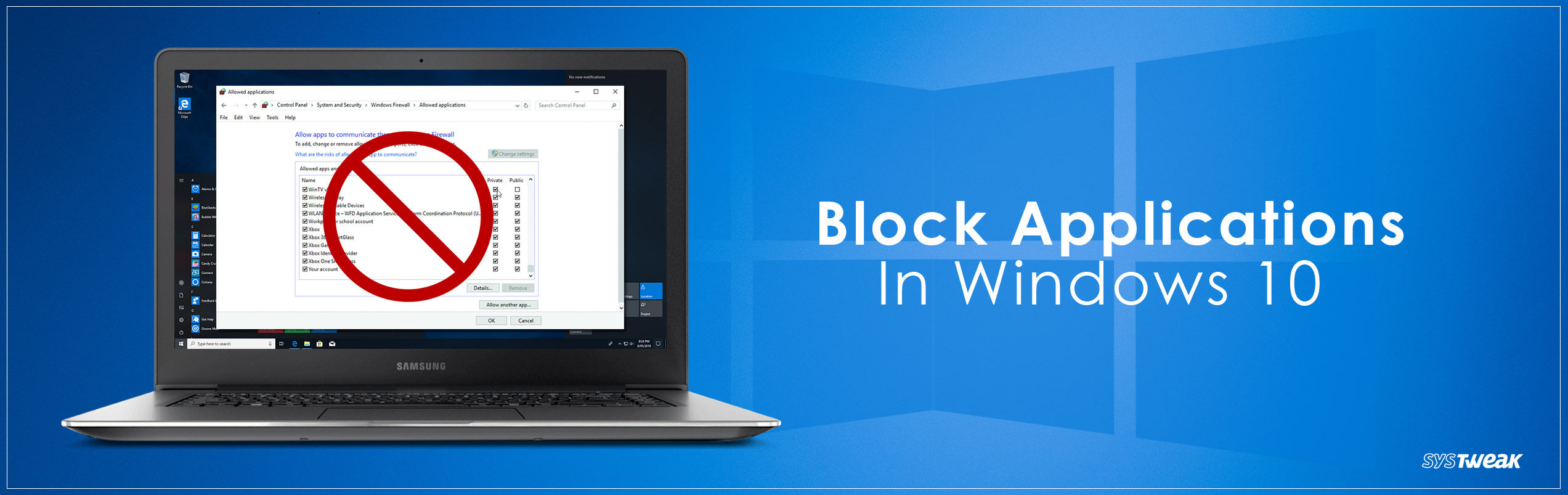 Ways To Block Applications In Windows 10