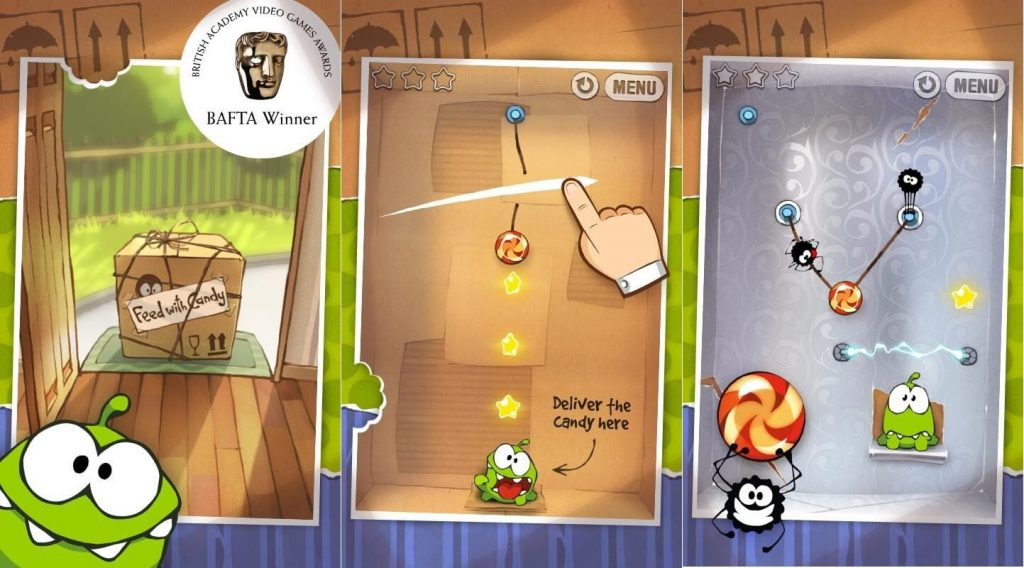 best puzzle app Cut the Rope