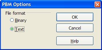 pbm file extension