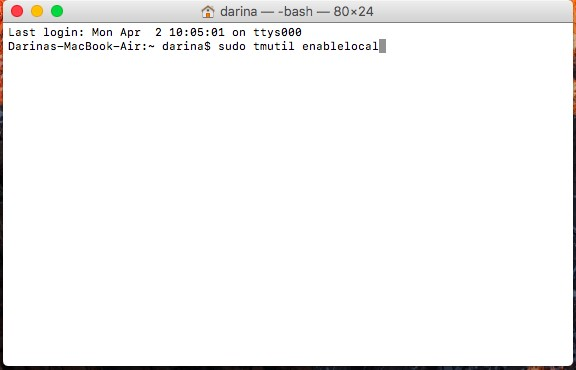 how to delete old time machine backups yosemite