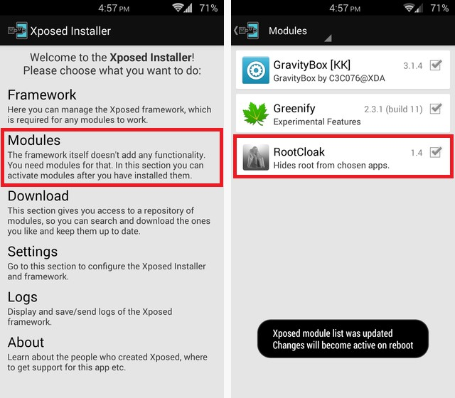 Xposed modules for Oreo