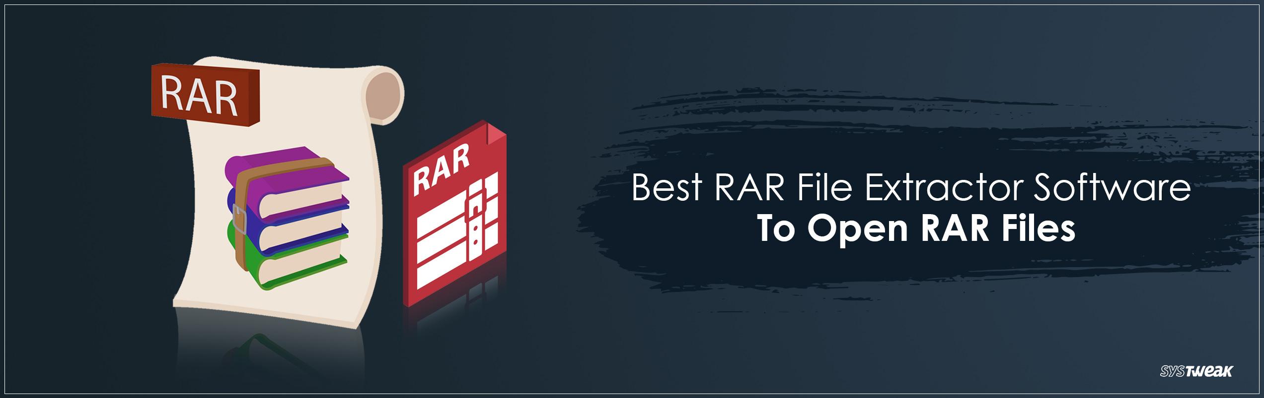 .rar file opener for pc