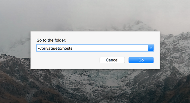 how to know hostname in mac