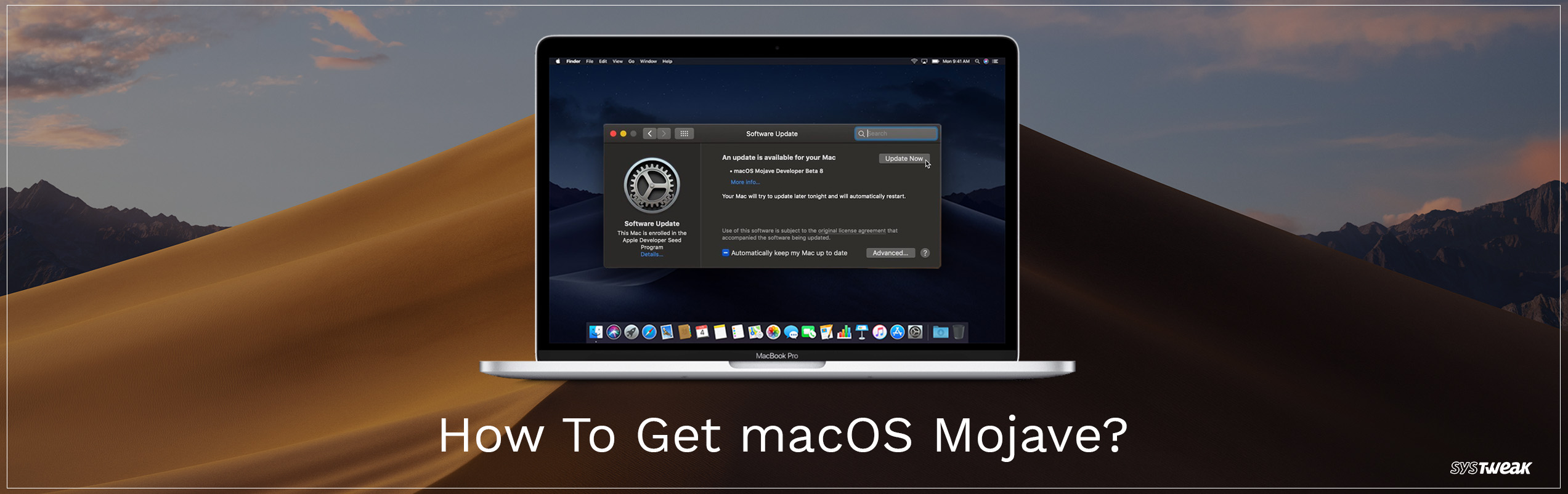 How to upgrade to macOS Mojave?