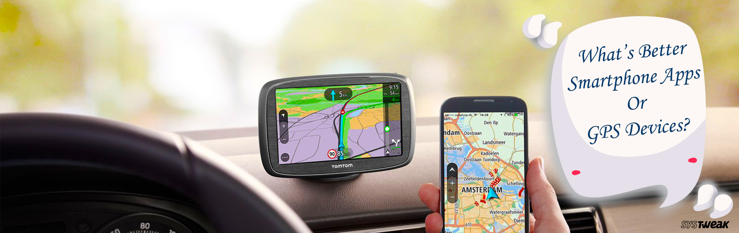 What's Better: Smartphone Apps Or GPS Devices?