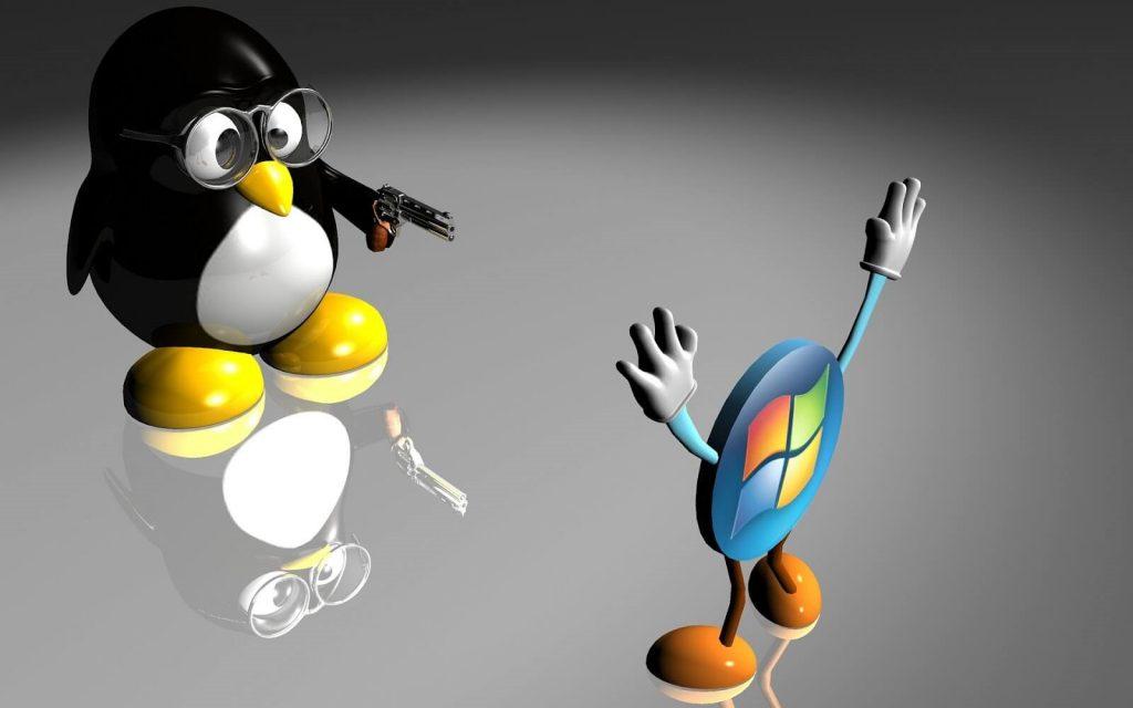 linux vs windows-1