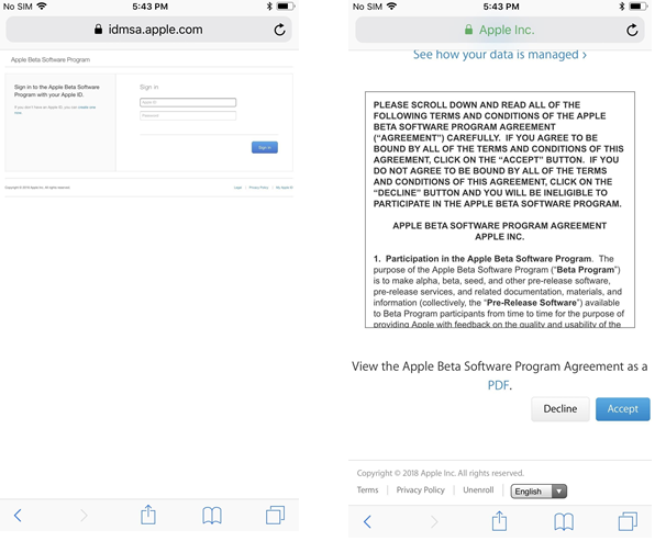 terms and conditions apple