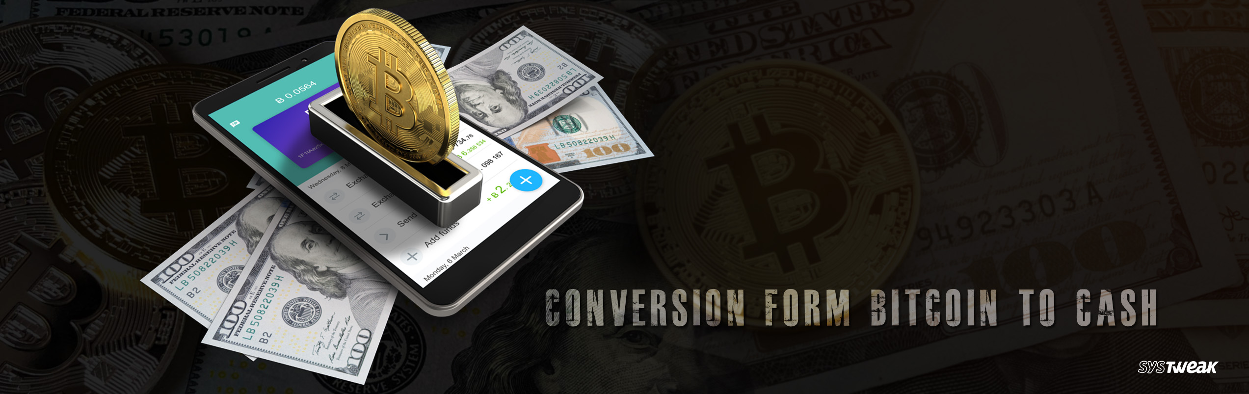 How hard is it to convert bitcoins in cash