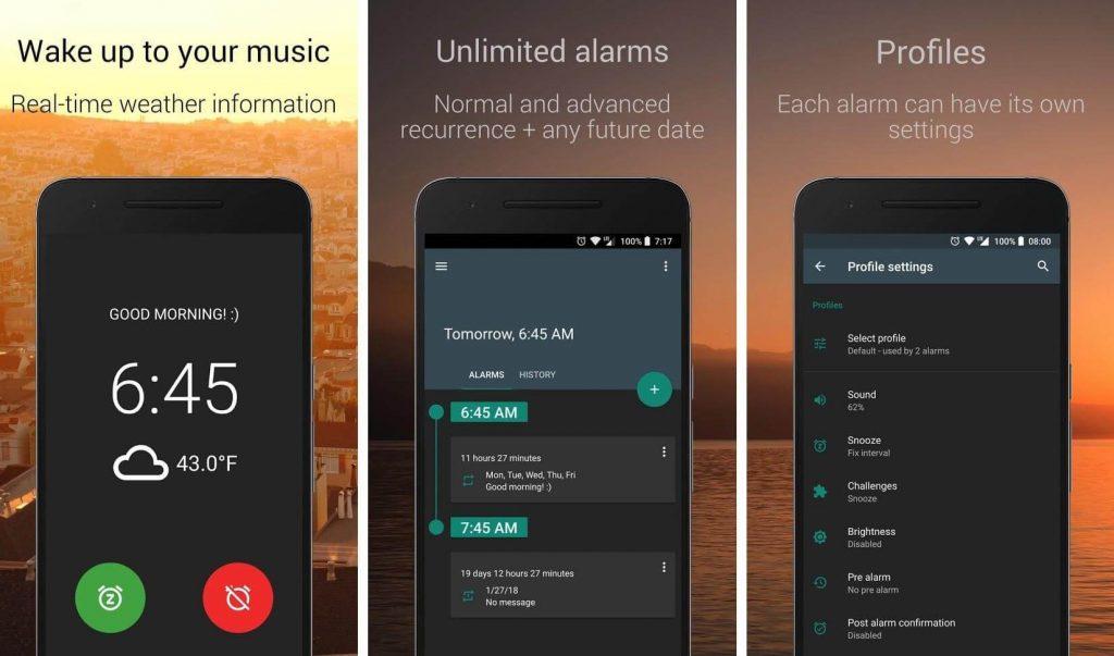 AMdroid Alarm Clock