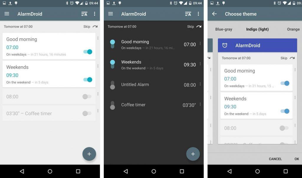 AlarmDroid - android alarm clock app