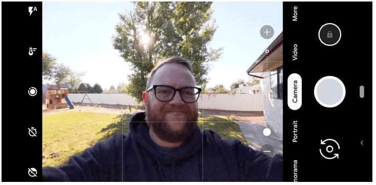 Better Group Selfies tips in pixel 3 camera