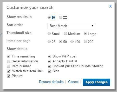 Explore More Search Options