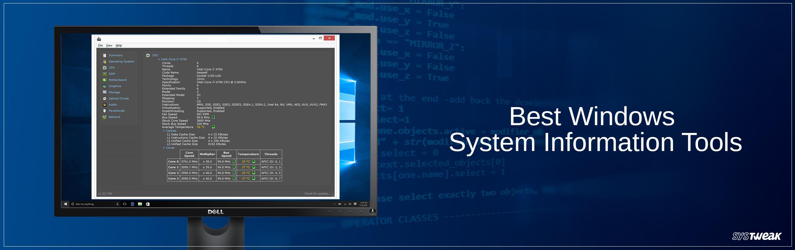 10 Best Windows System Information Tools