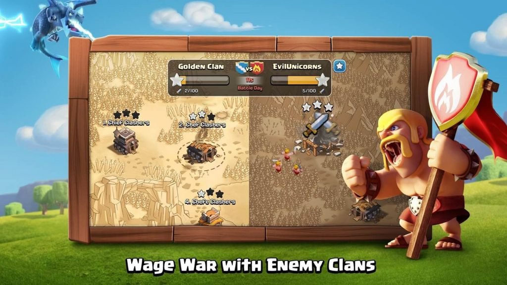 Clash of Clans war game