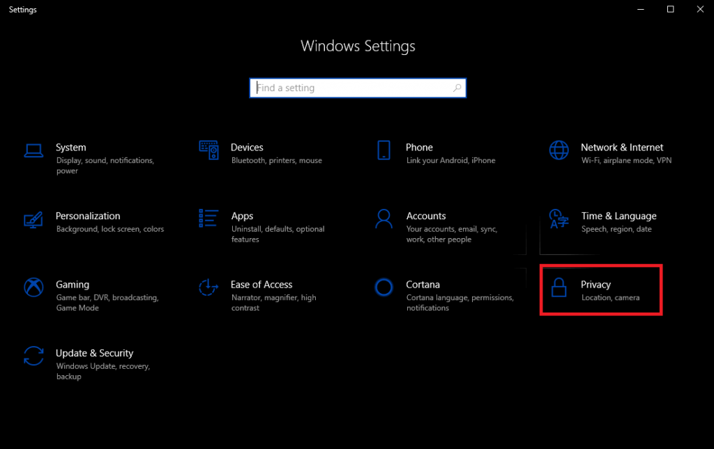 Customize According To The Categories of Permissions