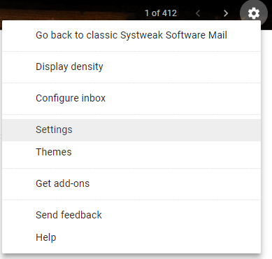 Disable Nudges From Gmail Settings