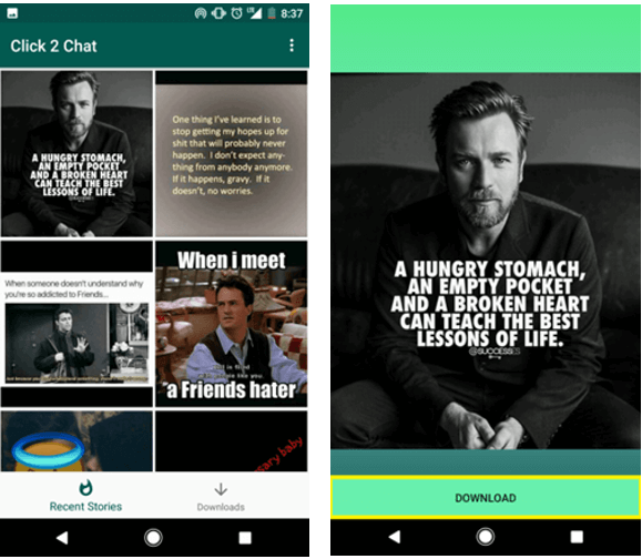 Download WhatsApp Status Videos On Android