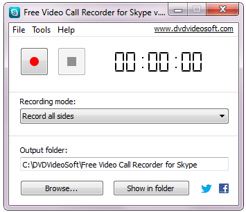 Dvdvideosoft Skype Video Recorder