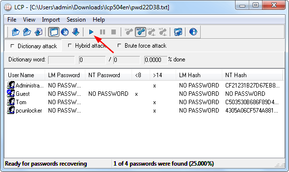 how to keep download separate from user account