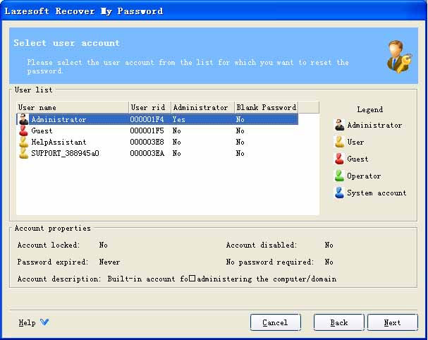 Lazesoft Recovery My Password