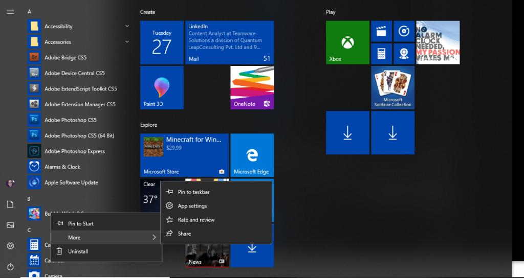 Methods To Control App Permissions on Windows 10 method-1