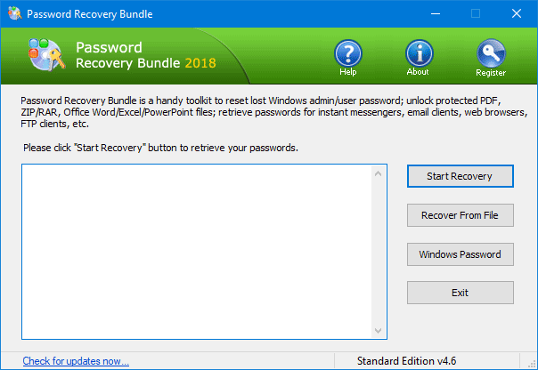 Password Recovery Bundle