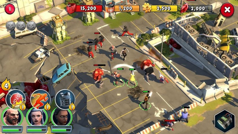 Zombie Anarchy-Survival Strategy Game