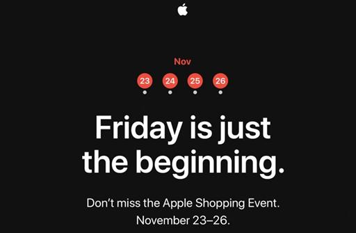 apple black friday sell
