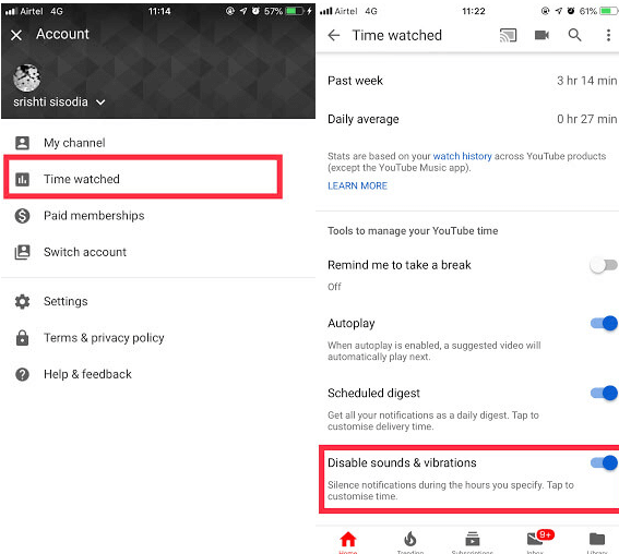 Deactivate Notifications For A Set Time- stpep-4