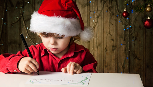 Drop a letter to Santa Claus