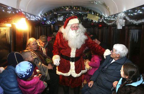 Plan out a Polar Express Train Ride