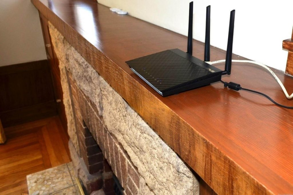 Raise the Wi-Fi Router