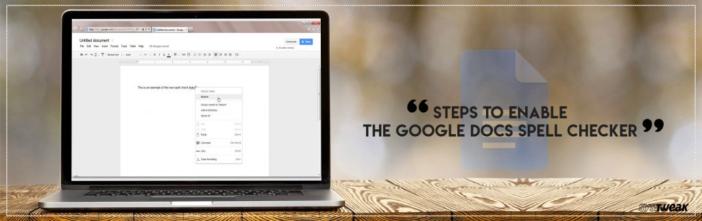 Steps-To-Enable-the-Google-Docs-Spell-Checker