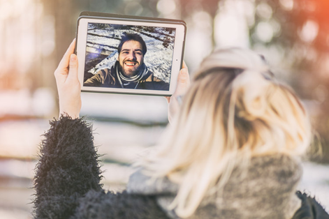 Video Chat with your Long-distance Friends