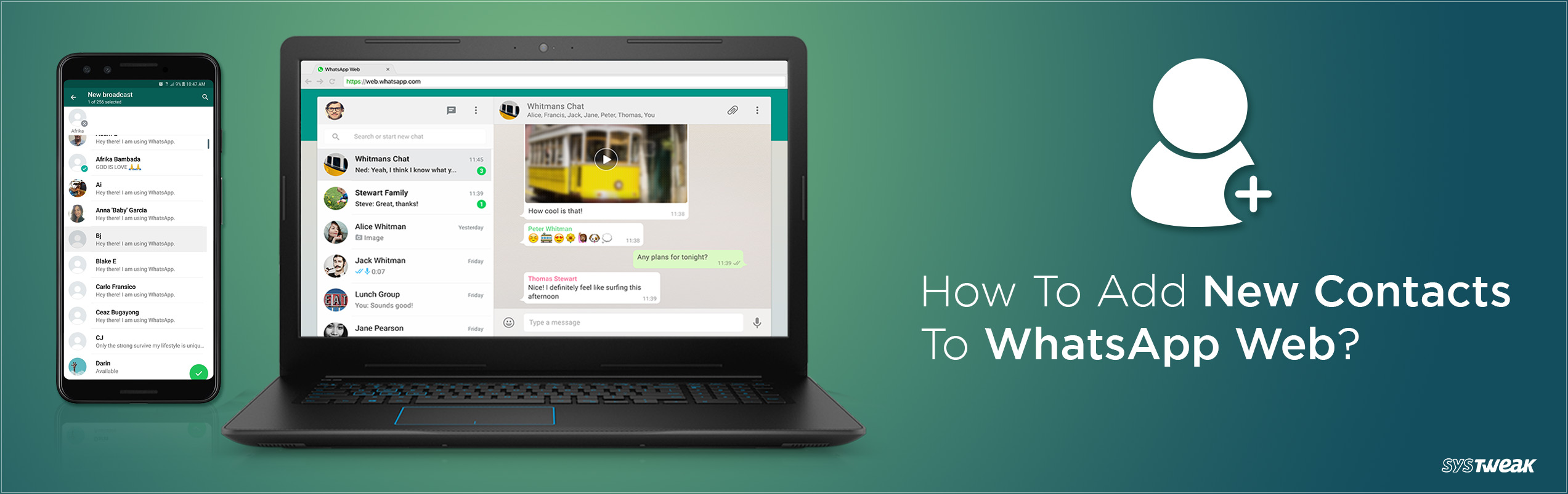 dd17b7bc434580 Guide To Save New Contacts on WhatsApp Via WhatsApp Web