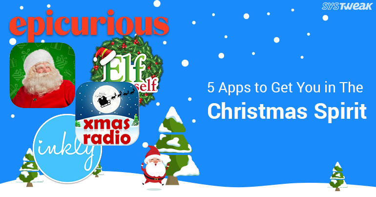5 apps to get you in the christmas spirit