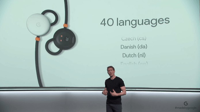 Airpod in 40 languages