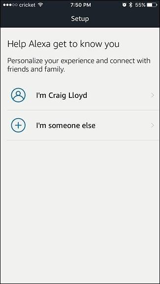 Alexa user ID