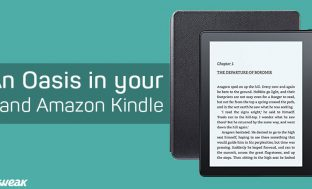 Amazon Kindle Oasis: Dive in the World of Books