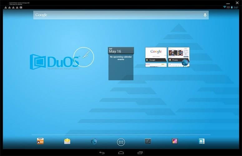 AmiduOS- android emulator 2017