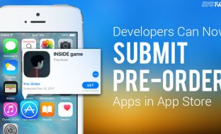Apple's Adds Pre-Order Feature To Its App Store