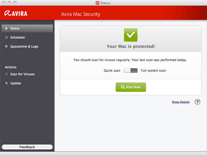 Avira-Mac antivirus best