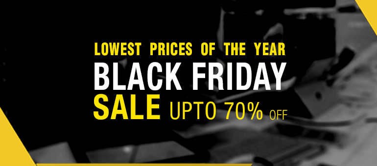 Grab Up To 70% off on Black Friday Deals!
